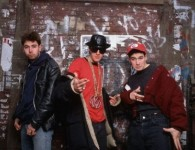 Beastie Boys In Front Of Wall