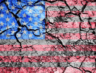 America: Crumbling apart? de William Billard