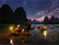0206_16 Night Fishing in China