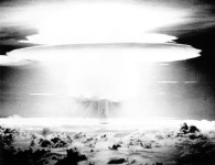US nuclear weapons test at Bikini in 1954